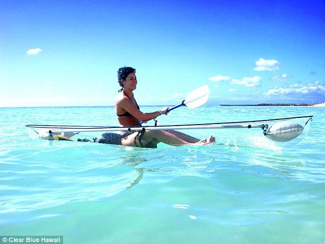 See The World Below You Through Crystal Clear Canoe